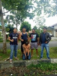 Polres Minahasa,  RSU Samrat Tondano, kekerasan di RSU Samrat Tondano