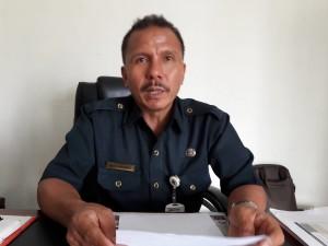 Kepala Dinas Kearsipan dan Perpustakaan Tomohon Drs Ventje L Karundeng