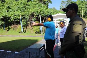 Wagub Kandouw Ikuti Olahraga Bersama Pemprov Sulut dan TNI