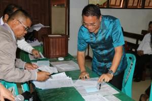 Pnt Jimmy F Eman SE Ak terpilih Ketua Komisi  P/KB Wilayah Tomohon Satu