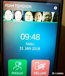 Tunjang Smart City, PDAM Tomohon Terapkan Aplikasi Absen Wajah