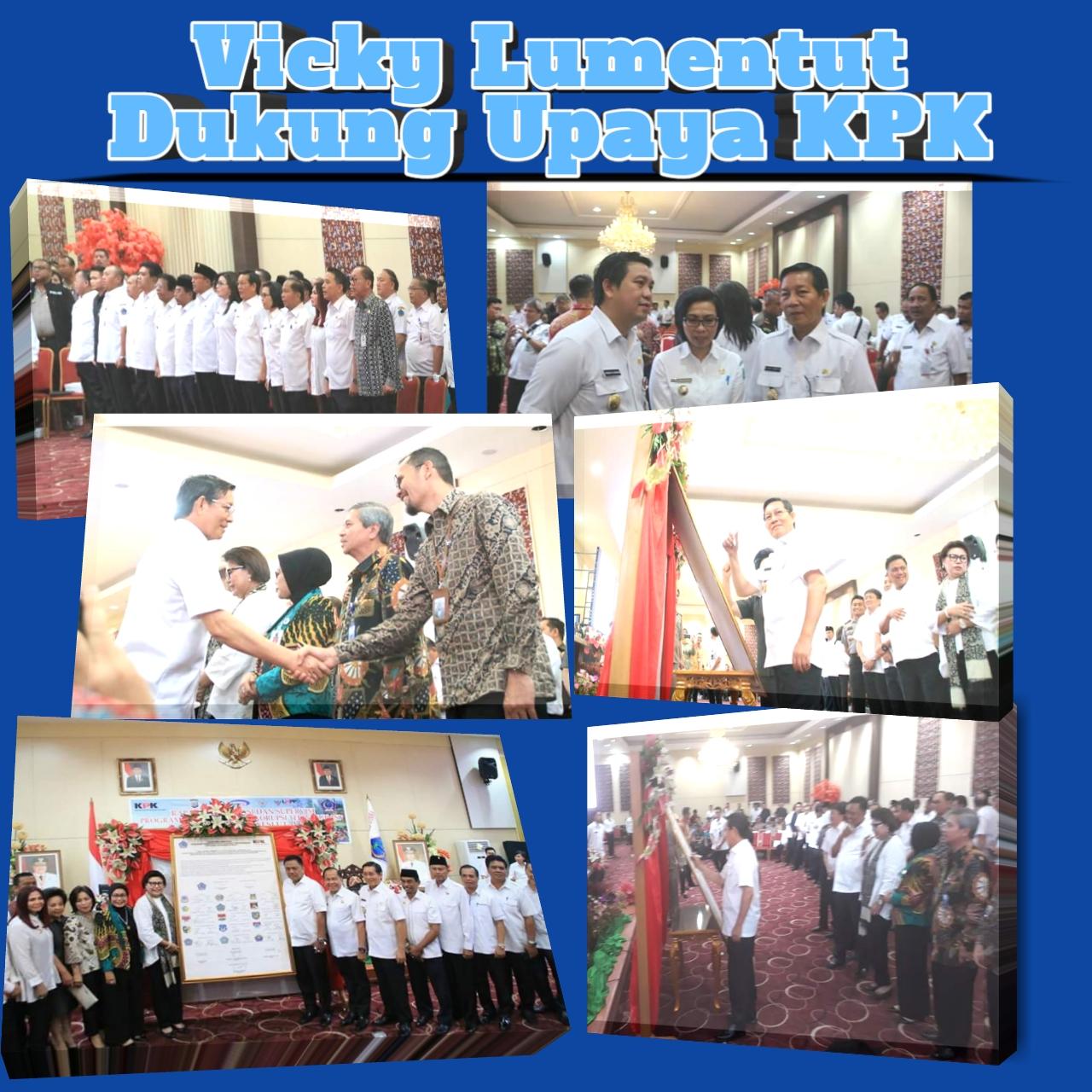 Walikota Manado, Vicky Lumentut, KPK, Korupsi Sulut