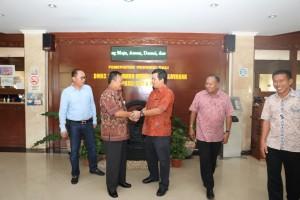 Kunker di Bali, Wagub Kandouw Sembangi Dinas Penanaman Modal dan PTSP Bali