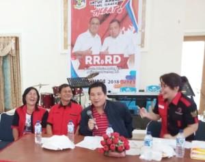 Kandouw Galang Konsolidasi Pemenangan R3D di Kakas