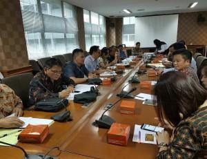 Pansus saat konsultasi di Badan Koordinasi Penanaman Modal Republik Indonesia