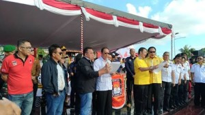 KPU dan Panwaslu Minahasa Sepakat Wujudkan Pilkada Damai di Minahasa