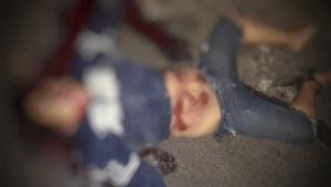 Korban kecelakaan lalulintas di Woloan