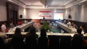 KPU  Minahasa,  Uji Publik Penataan Dapil