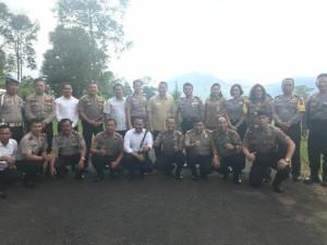 Wali Kota dan jajaran bersama Kapolda Sulut dan jajaran Polres Tomohon
