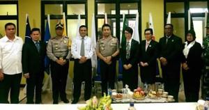 Kapolda Sulut Pantau Kesiapan KPU Mitra Jelang Pilkada