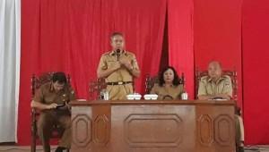 Dinas Pendidikan Kabupaten Minahasa, Laporan Keuangan Sekolah,  DR. Arody Tangkere,