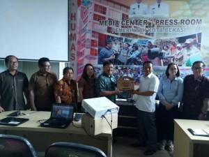 Komisi II DPRD Tomohon di Bekasi