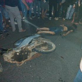 Riko Mandang, kecelakaan tondano