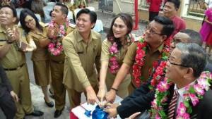 Wakil Walikota Bitung, Ir Maurits Mantiri , GMAHK Girian, GMAHK bitung