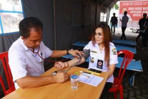 Jelang Dua Tahun EMAS, PMI Tomohon Gelar Aksi Donor Darah
