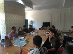 Pansus dan instansi terkait gelar pembahasan di DPRD Tomohon