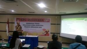 KPU Minahasa, Pilkada Minahasa 2018,  Agen Sosialisasi Pilkada