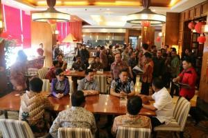 Suasana Rapat Umum Pemegang Saham Bank Sulutgo