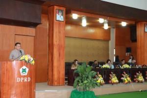 Wali Kota Tomohon mengajukan Dua Ranperda ke DPRD