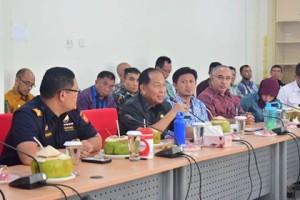 KEK Bitung, Banggar DPR , DR H M Aziz Syamsuddin SH