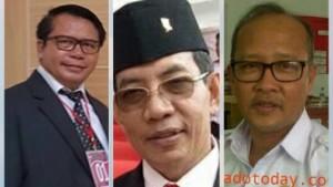 Sekda Kabupaten Minahasa Tenggara, Calon Sekda Mitra, Robby Ngongoloy,  Ir Elly Sangian, dr Tommy Soleman