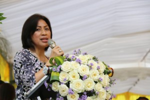 Ketua DPRD Kota Tomohon Ir MIky JL Wenur