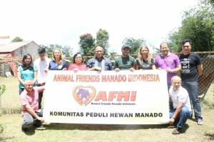 Sekrtaris Kota Tomohon Ir Harold V Lolowang MSc MTh bersama AFMI