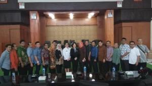Ketua DPRD dan Kadis Pariwisata Tomohon bersama DPRD Banyumas