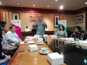 Deputi Bidang Pengembangan Destinasi dan Industri Pariwisata Dadang Rizky Ratman SH MPA memberikan penjelasan