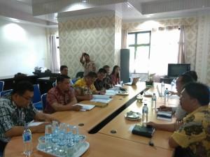 Pembahasan Pansus p[enambahan Penyertaan Modal ke Bank Sulutgo