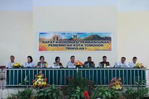 Rakorbang Pemerintah Kota Tomohon