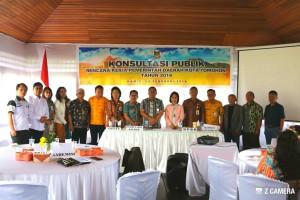 pemkot dan stakeholfer yang menandatangani berita acara  kesepakatan tema pembangunan 2019
