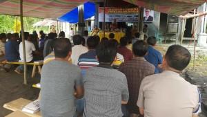 Peserta Sosialisais 4 Pilar MPR-RI di Kecamatan Ranoyapo Minahasa Selatan