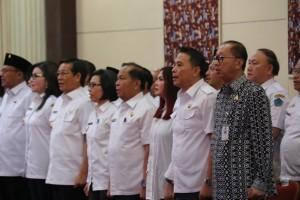 Wali Kota dan Ketua DPRD Tomohon Teken Komitmen Bersama Pemberantasan Korupsi Terintegrasi