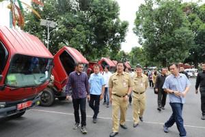 kendaraan dinas Pemprov Sulut