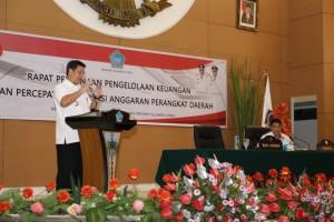 OD-SK Minta Seluruh SKPD Pemprov Sulut Perhatikan Penyerapan Anggaran