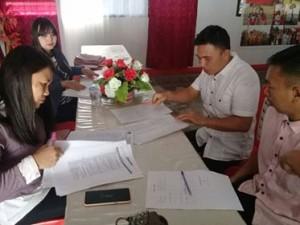 Calon PPS Langowan Timur, pemilu 2019, KPU minahasa
