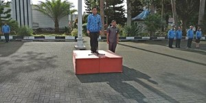 Royke Mewoh, Pemkab Minahasa,  Apel Korpri