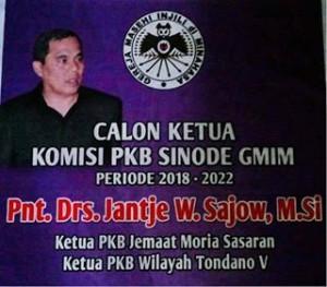 Pemilihan Komisi PKB GMIM, JWS: Biarlah Berproses Sesuai Kehendak Tuhan