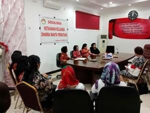 Penjabat Bupati Minahasa, Drs Royke H Mewoh DEA,  Dharma Wanita Persatuan, DWP minahasa