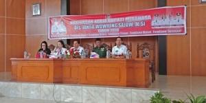 Bupati Minahasa Drs. Jantje W. Sajow,  Tondano Raya