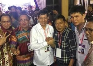 PKB Sinode GMIM, James Sumendap , Pnt Vicky Lumentut, Ketua P/KB GMIM Periode 2018 – 2022