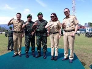 Kodam XIII/Merdeka Manado, Mayjen TNI Ganip Warsito , Mayjen TNI Madsuni, Ronald Kandoli,