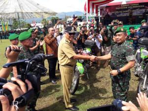 Panglima Kodam XIII/Merdeka, Mayjen TNI Madsuni