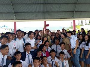 foto selfie siswa