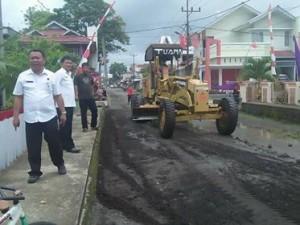 Jalan Tombatu-Silian , perbaikan  Jalan Tombatu-Silian , Pasar Tua Tombatu