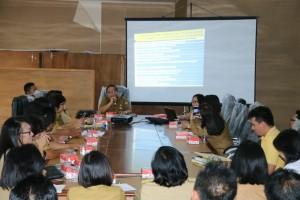 Rapat persiapan lomba kelurahan ramah anak