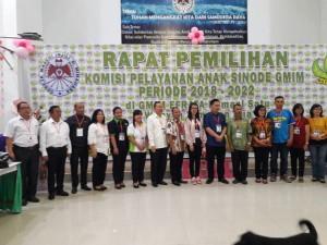 Komisi Pelayanan Anak Sinode GMIm Periode 2018-2022