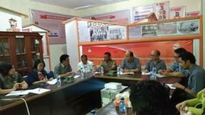KPU Matangkan Persiapan Debat Calon Bupati dan Wakil Bupati Minahasa 2018