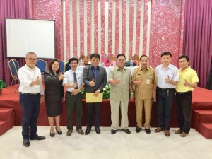 Formatur dan Fasilitator penyusunan struktur Pengurus DPD LPM Kota Tomohon